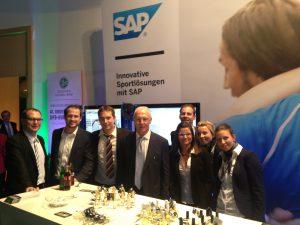 Parfumerlebnisse für Gruppen von SAP und DFB