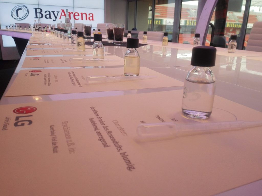Parfümerlebnisse für Gruppen